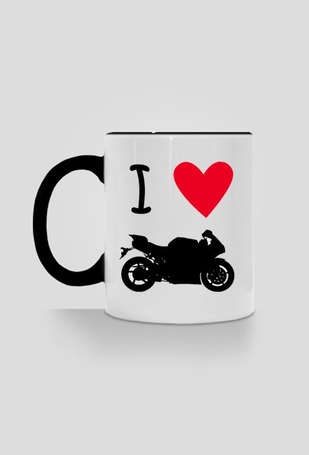Kubek motocyklisty kocham motocykle