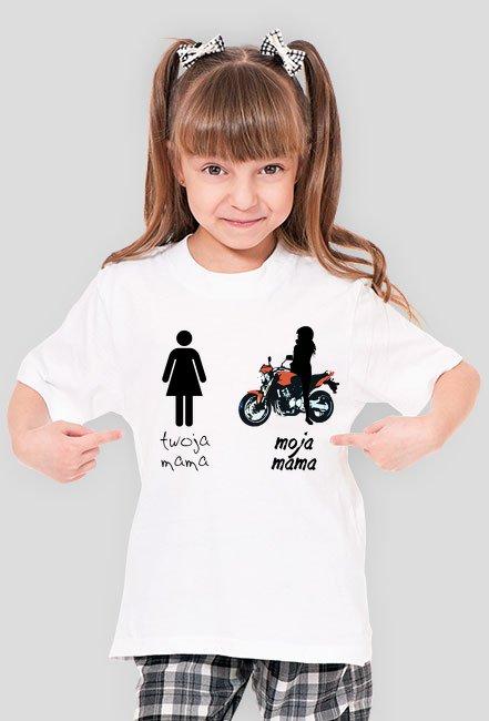 Moja mama jest motocyklistką - k
