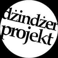 T-SHIRT męski DŻINDŻER PROJEKT białe logo