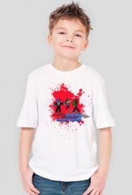 DZIECIĘCA - Biała z Czerwonym