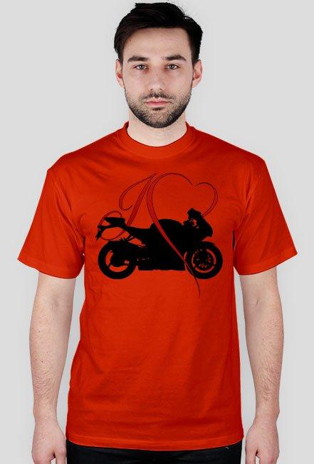 I love moto - koszulka męska
