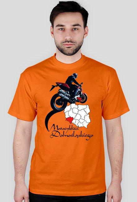 Motocykliści dolnośląskiego - koszulka męska
