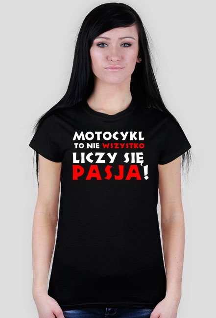 Motocykl to nie wszystko, liczy się pasja WM - koszulka