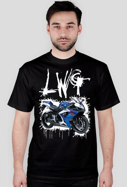 LWG czarna M - koszulka