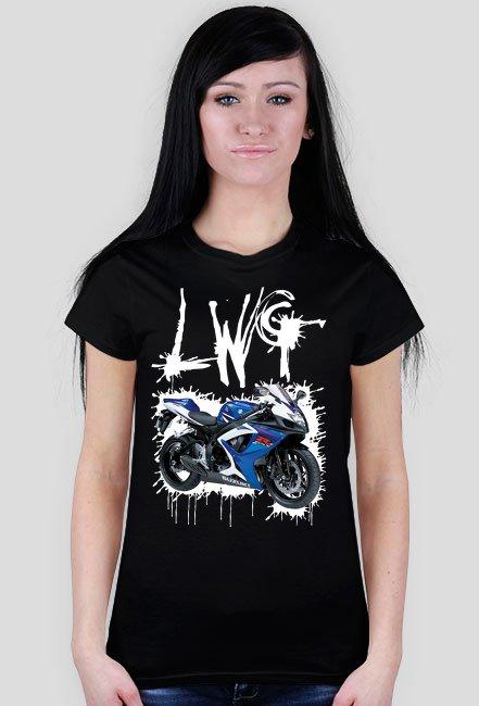 LWG czarna WM - koszulka