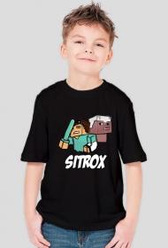 Sitr0x & Pig - Dziecięca - Czarna