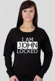 I am Johnlocked - bluza damska