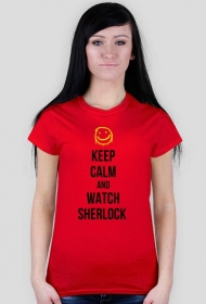 Keep calm and watch Sherlock - damska