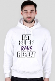 Bluza męska - Eat, sleep, rave, repeat