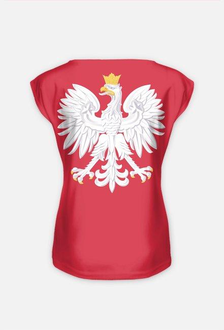 Koszulka damska z orłem