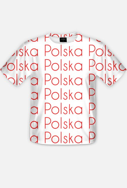 Polska - koszulka męska