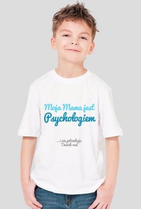 Moja mama jest psychologiem - niebieski