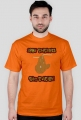 Koszulka męska - leniwiec
