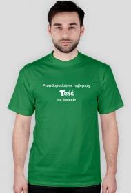 Prawdopodobnie najlepszy teść na świecie - koszulka