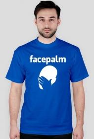 Koszulka facebook facepalm