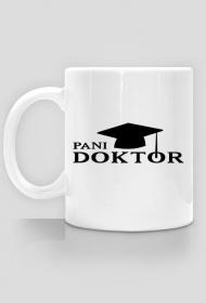 prezent na obronę doktoratu - pani doktor kubek