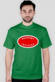 Prezent dla inżyniera - koszulka Wzorowy inżynier