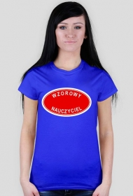 Wzorowy nauczyciel - koszulka damska