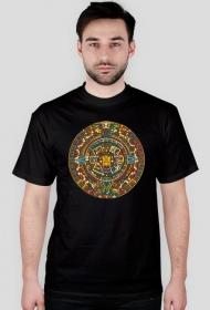 Koszulka z wzorem azteckim