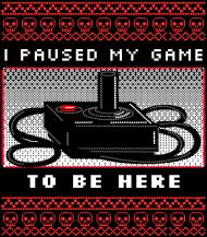Koszulka dla gracza - I paused my game to be here