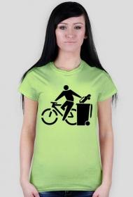 Rower koszulka damska