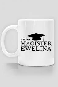 Kubek Pani Magister z imieniem na zamowienie