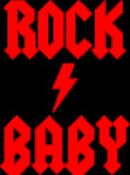 Rock baby - body dziecięce