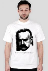 Koszulka Józef Piłsudski - Naród wspaniały tylko ludzie kurwy