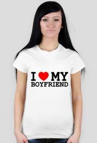 Koszulka I love my boyfriend
