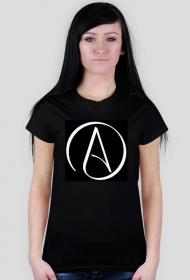 Ateizm - koszulka damska
