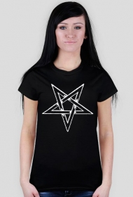 Pentagram - koszulka damska