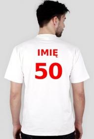 50 z imieniem - prezent na 50 urodziny