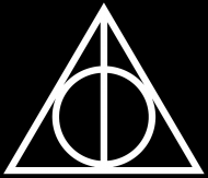 Harry Potter Insygnia śmierci koszulka damska