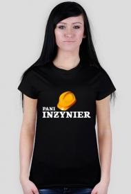 Pani inżynier - koszulka czarna