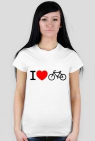 Rower - damska biała