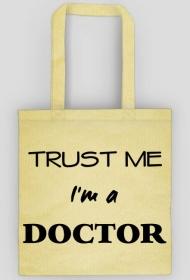 Prezent na obronę doktoratu - torba