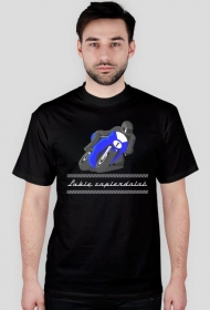 Koszulka Lubię zapierdalać - czarna
