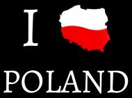 I love Poland bluzka damska