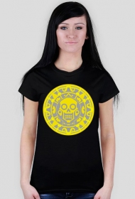 Aztecki wzór - koszulka damska