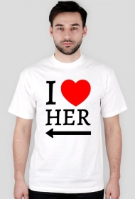 Koszulka I love her