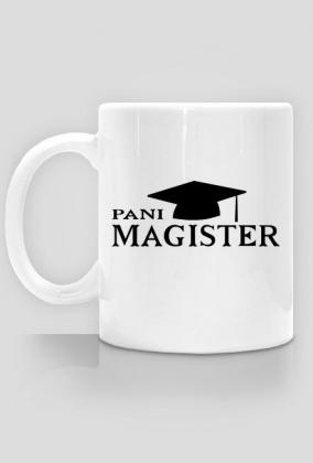 Prezent na obronę pracy magisterskiej - kubek Pani magister