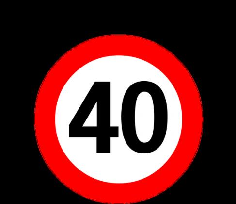Prezent z okazji 40 urodzin - kubek Przekroczyłem 40-tkę
