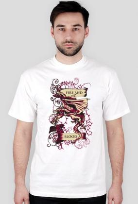 koszulka Gra o tron - Fire and Blood