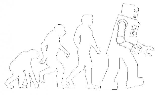 Teoria wielkiego podrywu - ewolucja robot