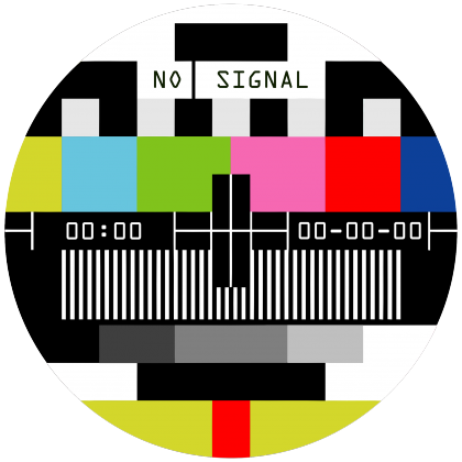 TV test card No signal T-shirt