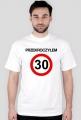 Koszulka na 30 urodziny biała