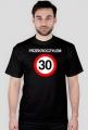 Prezent na 30 urodziny - Przekroczyłem 30 koszulka czarna