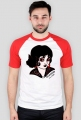 LADY 2# shirt black&red