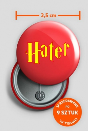 Hater pin