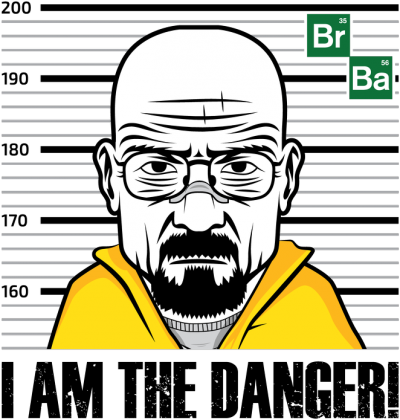Breaking Bad - I am the danger!